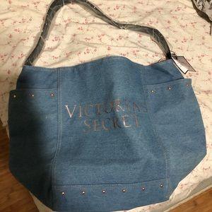 NWT Victoria's Secret large shoulder tote bag